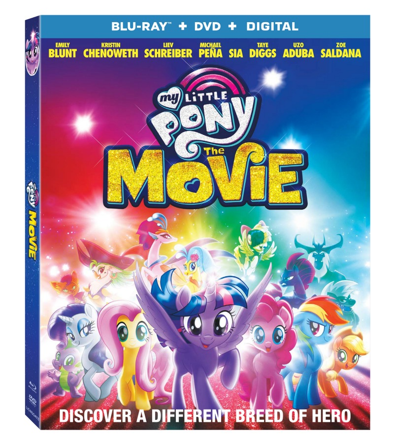 The Mane 6 are Joined by Fun New Friends Voiced by an All-Star Cast in this Magical Adventure Arriving on Digital December 19 and Blu-ray™ Combo Pack and DVD on January 9 from Lionsgate.