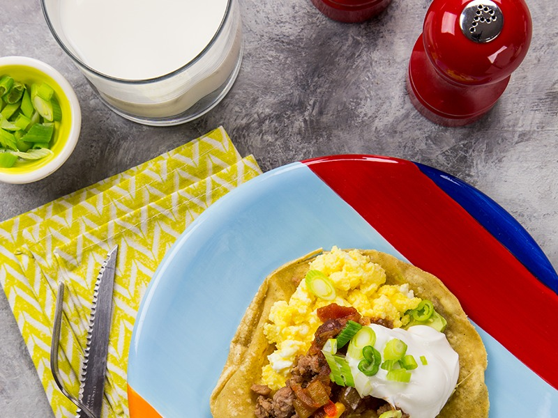 Protein Power Huevos Rancheros