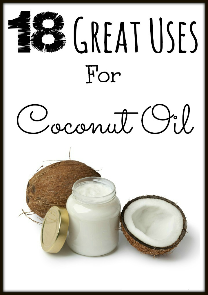 18 Great Uses For Coconut Oil