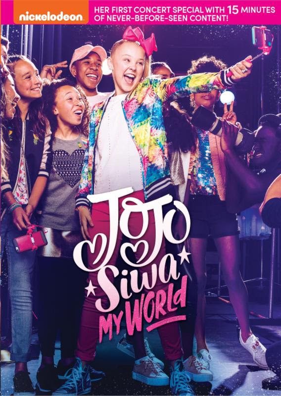 Bring Home JoJo Siwa: My World for Valentine's Day