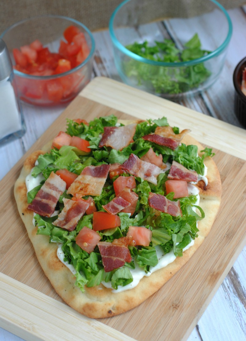 Easy BLT Pizza Recipe
