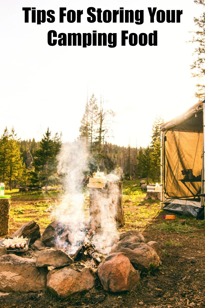 Tips For Storing Your Camping Food