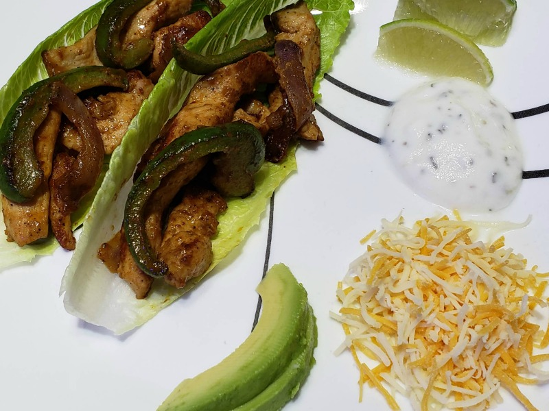 Heart-Healthy Chicken Fajitas with Mazola Corn Oil #MakeItMazola #simpleswap