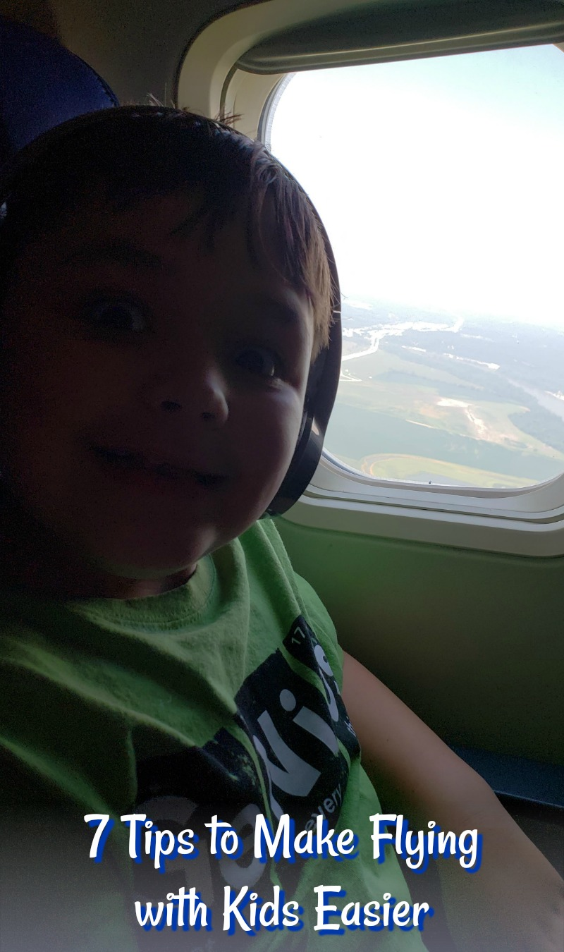 7 Tips to Make Flying with Kids Easier