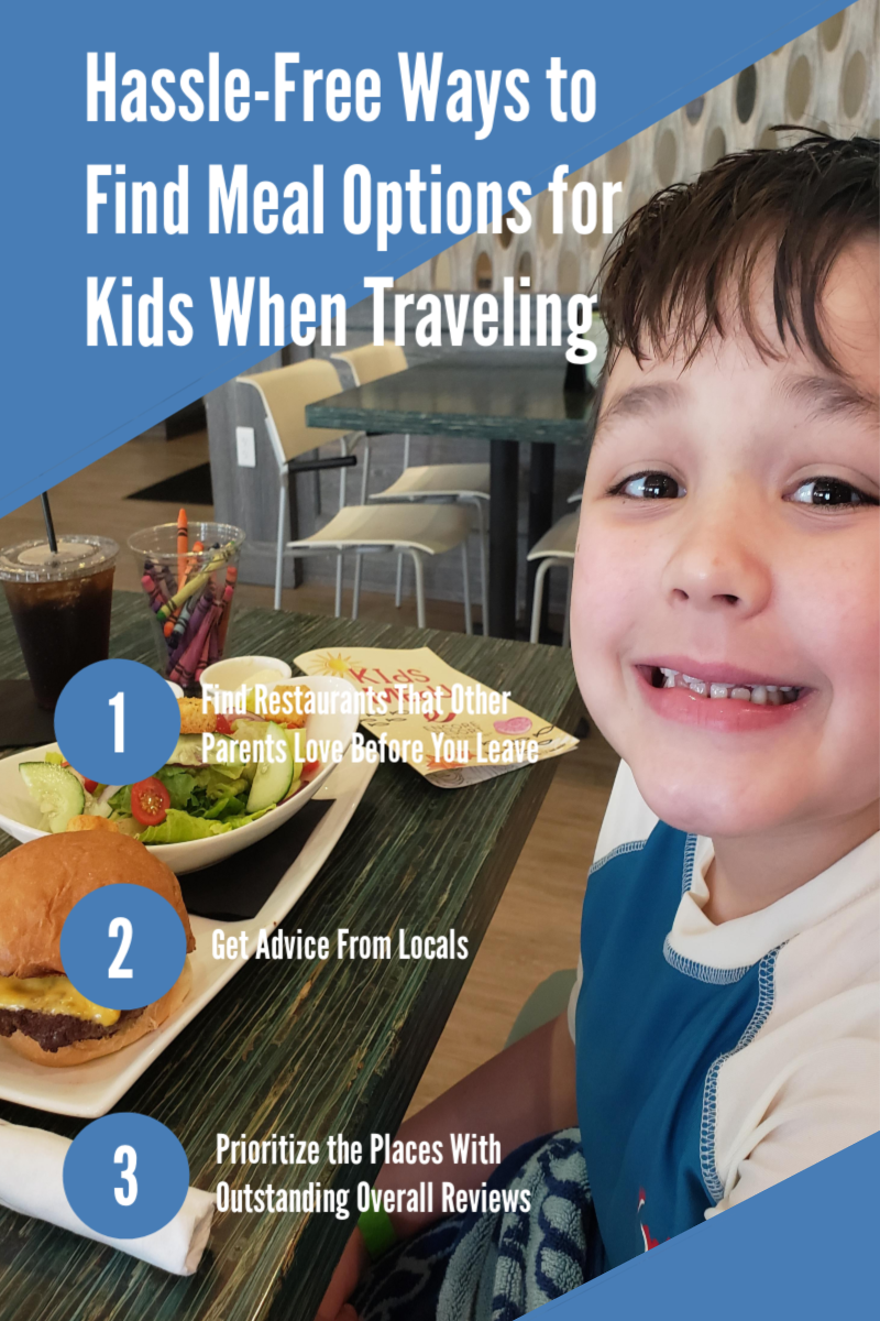 Hassle-Free Ways to Find Meal Options for Kids When Traveling