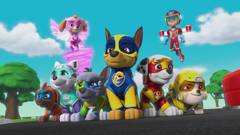 "PAW Patrol ""Pups Rescue Thanksgiving/Pups Save a Windy Bay"""