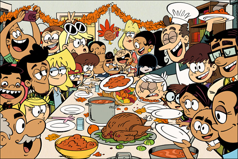 "The Loud House ""The Loudest Thanksgiving"""