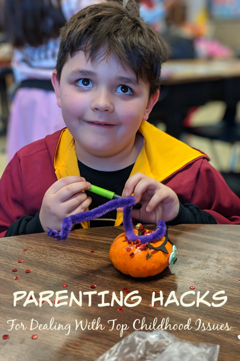 Parenting Hacks For Dealing With Top Childhood Issues