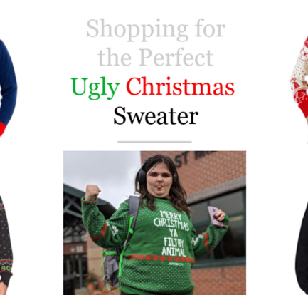 Shopping for the Perfect Ugly Christmas Sweater