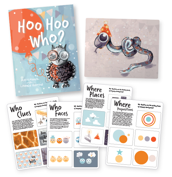 HOO HOO WHO? by Mary Maier Teaches WHO WHAT WHERE + Downloadable Flashcards & Giveaway