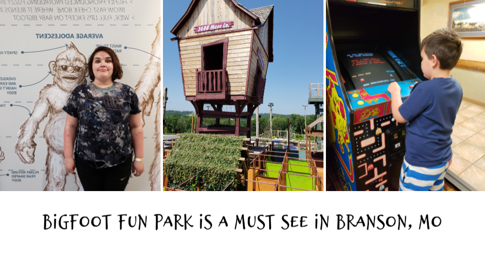 Bigfoot Fun Park is a Must See in Branson, MO