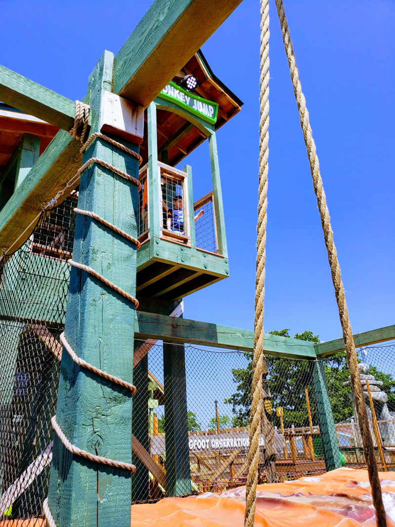 Bigfoot Fun Park is a Must See in Branson, MO - Monkey Jump