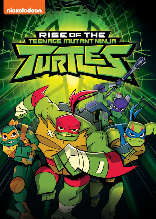 Rise of the Teenage Mutant Ninja Turtles DVD