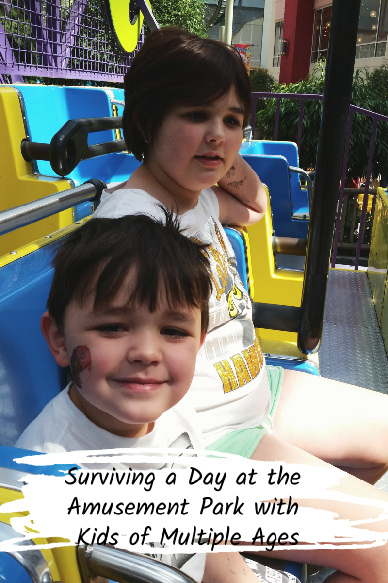 Surviving a Day at the Amusement Park with Kids of Multiple Ages