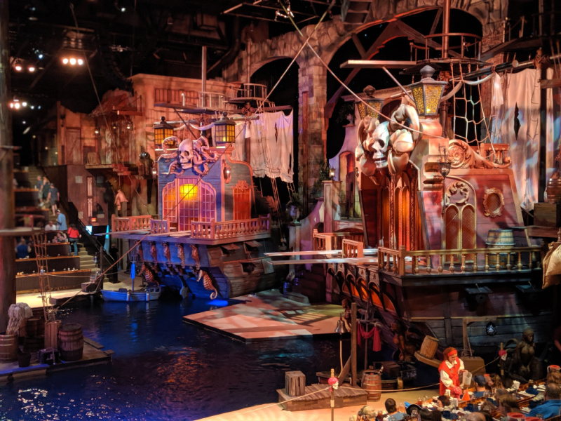 AHOY, MATEY! Pirates Voyage Dinner Show Experience