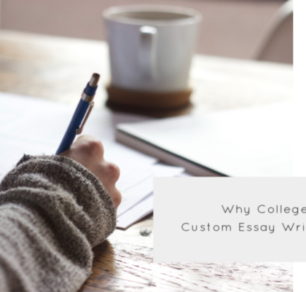 Why College Students Use Custom Essay Writing Services?