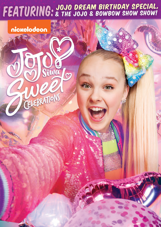JoJo Siwa: Sweet Celebrations DVD now available in stores and online.