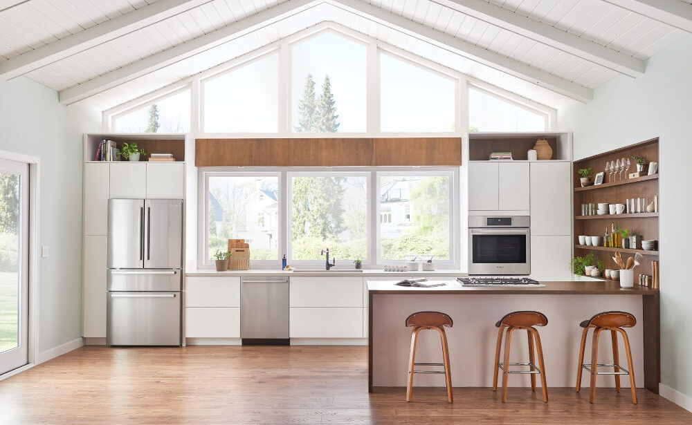 Upgrade Your Kitchen with the All-New Bosch Counter-Depth Refrigerator