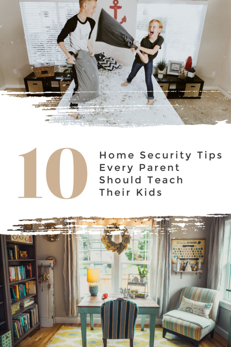 Home Security Tips Every Parent Should Teach Their Kids
