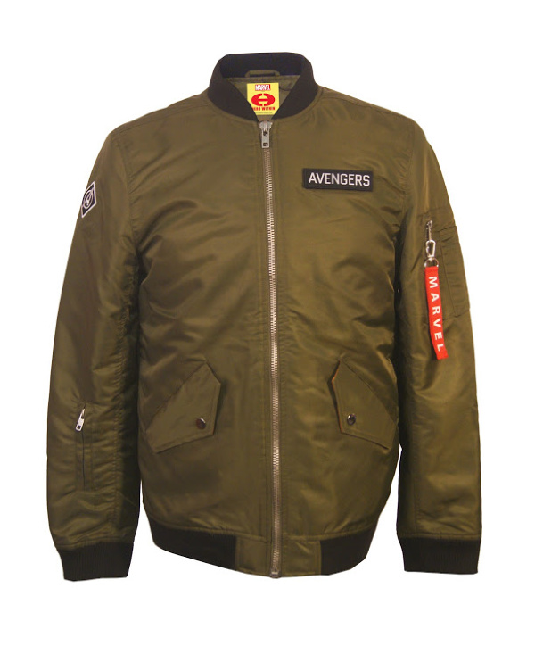 Marvel Lovers Holiday Gift Guide - Avengers Bomber Jacket