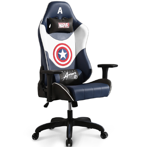 Marvel Lovers Holiday Gift Guide - Marvel Avengers Gaming Chair: Captain America