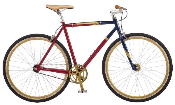 Marvel Lovers Holiday Gift Guide - Captain Marvel Single-Speed Bike