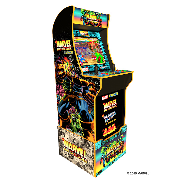 Marvel Lovers Holiday Gift Guide - Marvel Super Heroes Home Arcade Cabinet