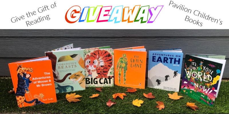 Complete 6-Book Library of Pavilion Children's Books Giveaway