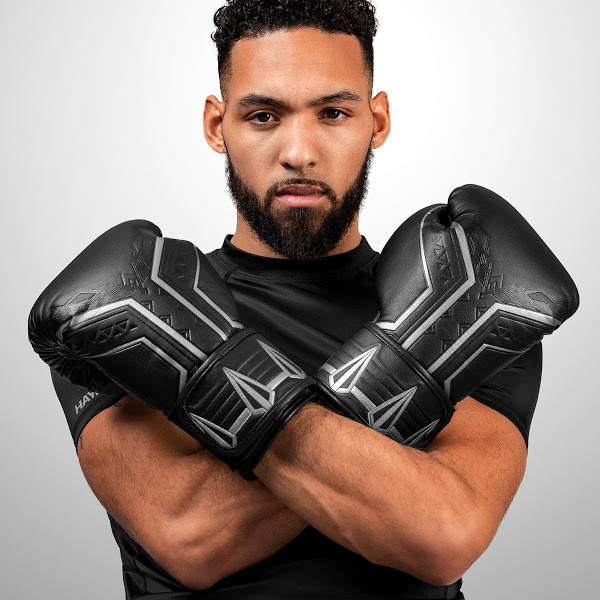 Marvel Lovers Holiday Gift Guide - Hayabusa Black Panther Boxing Gloves
