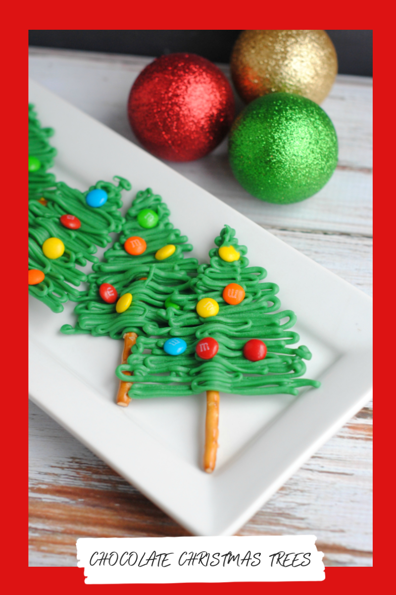 Chocolate Christmas Trees are Perfect for Holiday Parties