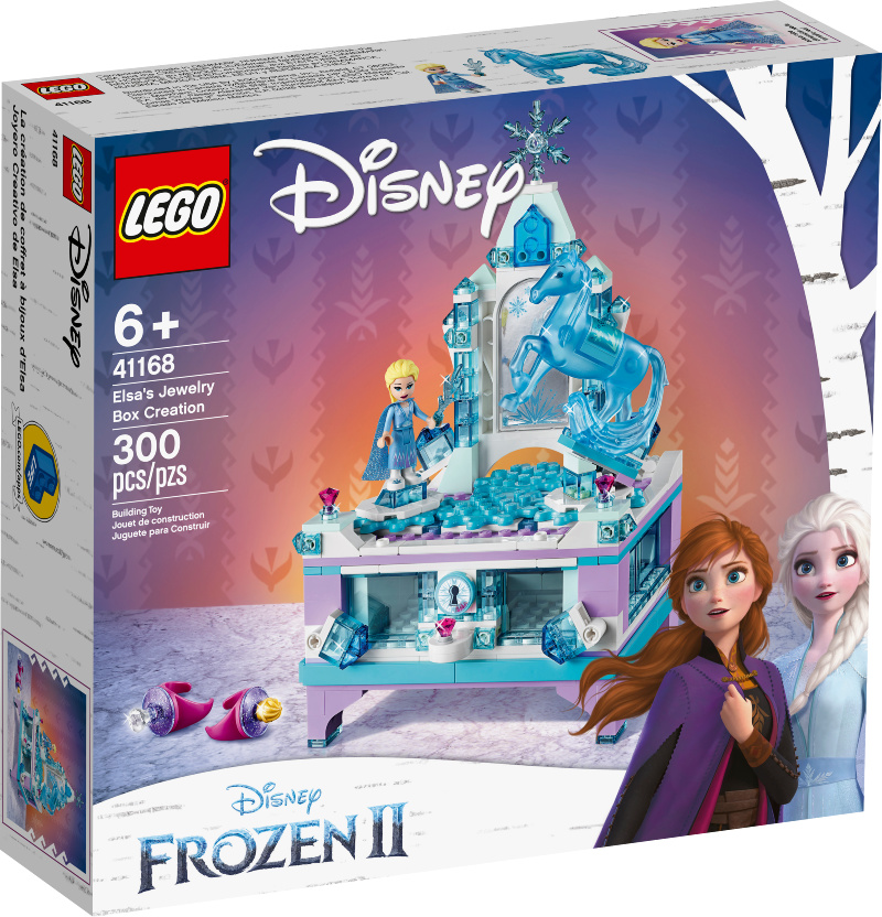 Best Frozen 2 Gifts this Holiday Season - Elsa's Jewelry Box Creation