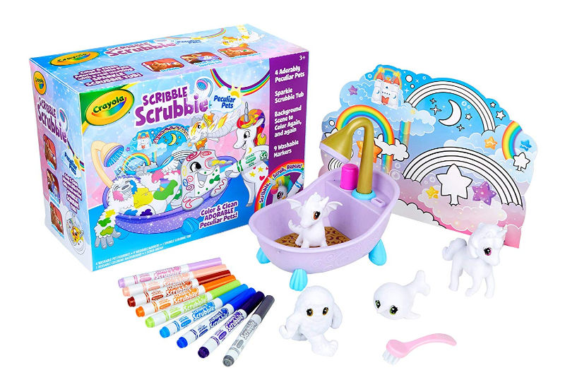 Creative Gift Ideas for Kids -Crayola Scribble Scrubbie
