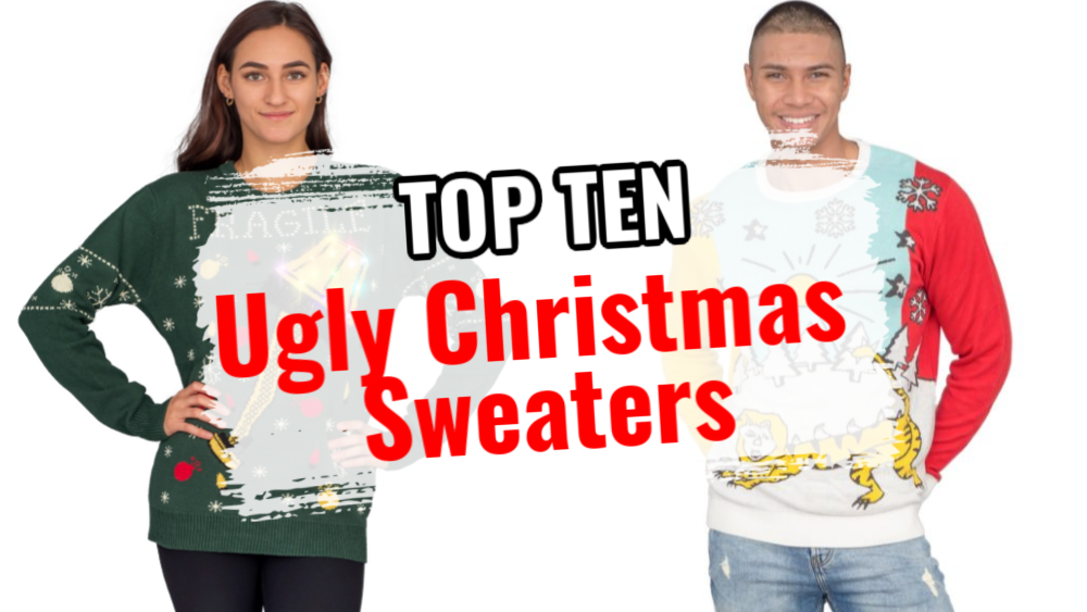 Top Ten Ugly Christmas Sweaters to Have You LYAO
