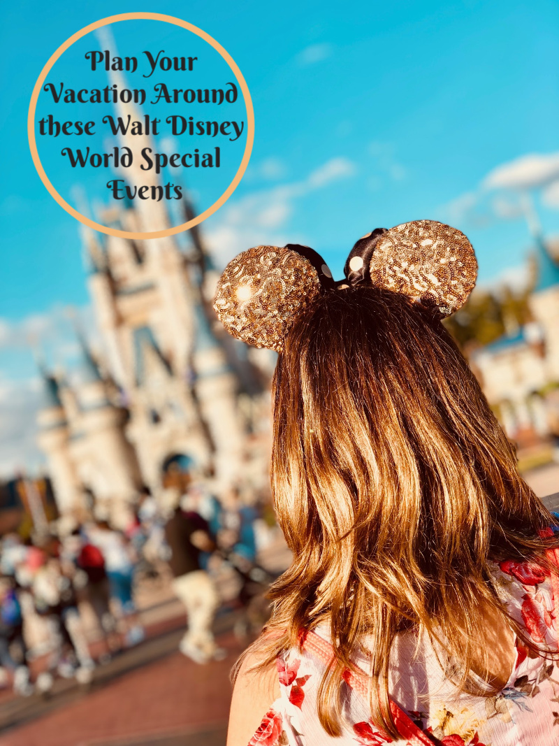 Plan Your Vacation Around these Walt Disney World Special Events