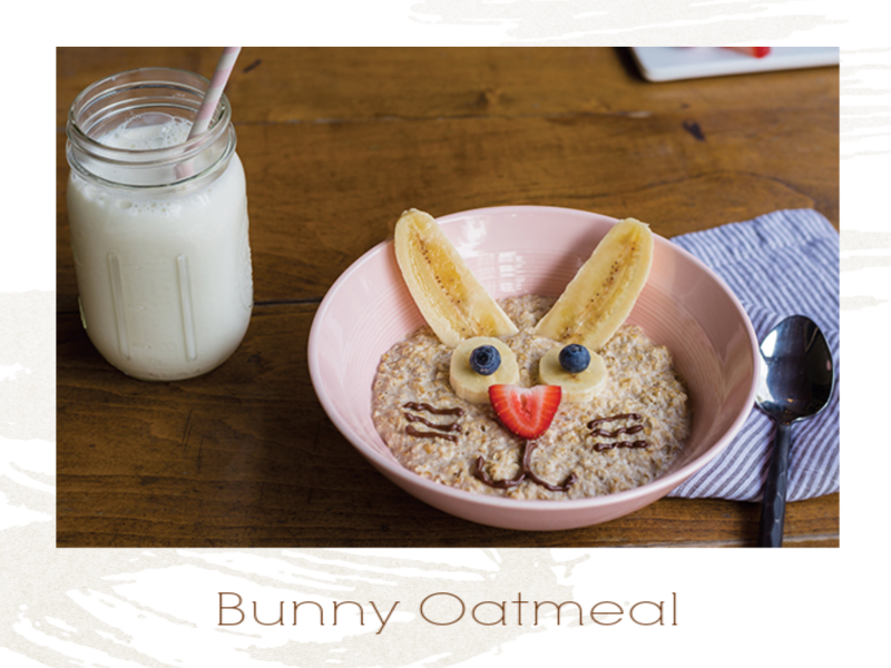 Bunny Oatmeal Recipe