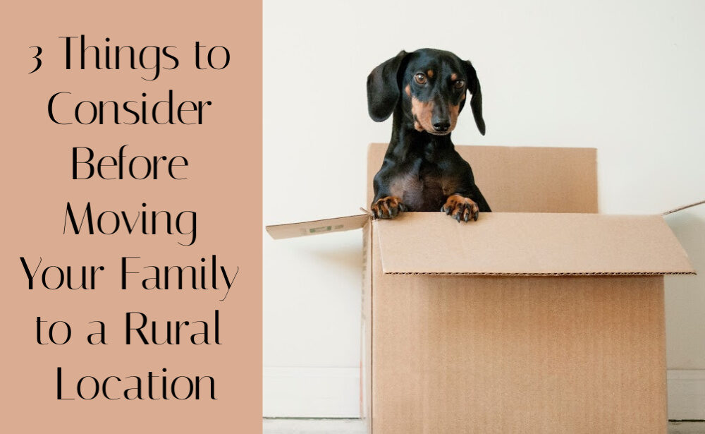 3 Things to Consider Before Moving Your Family to a Rural Location