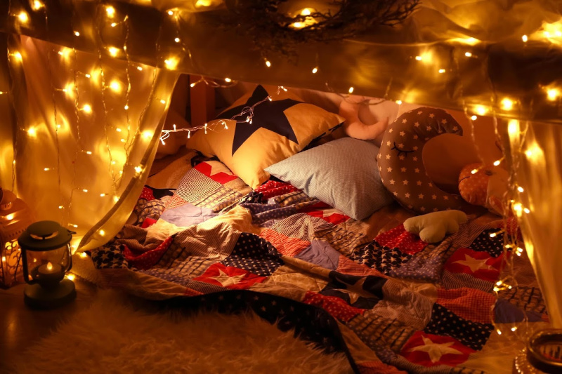 4 Family Fun Activities For When You Are Stuck Indoors - Build A Fort