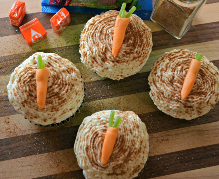 Easy Rips Carrot Cupcake Recipe for Easter