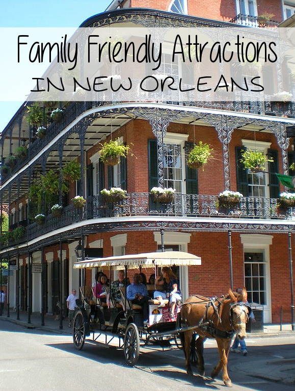 Family Friendly Attractions In New Orleans
