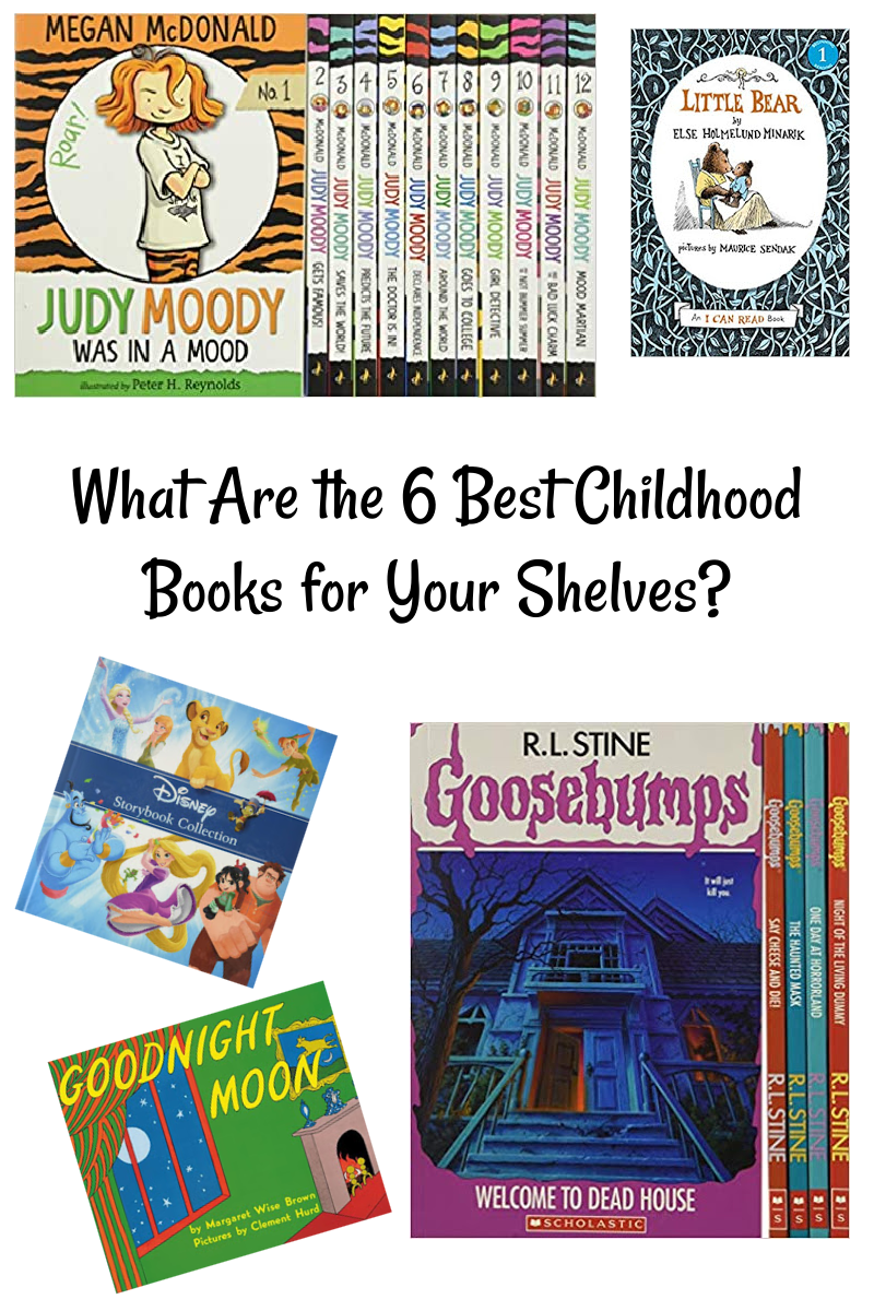 What Are the 6 Best Childhood Books for Your Shelves?