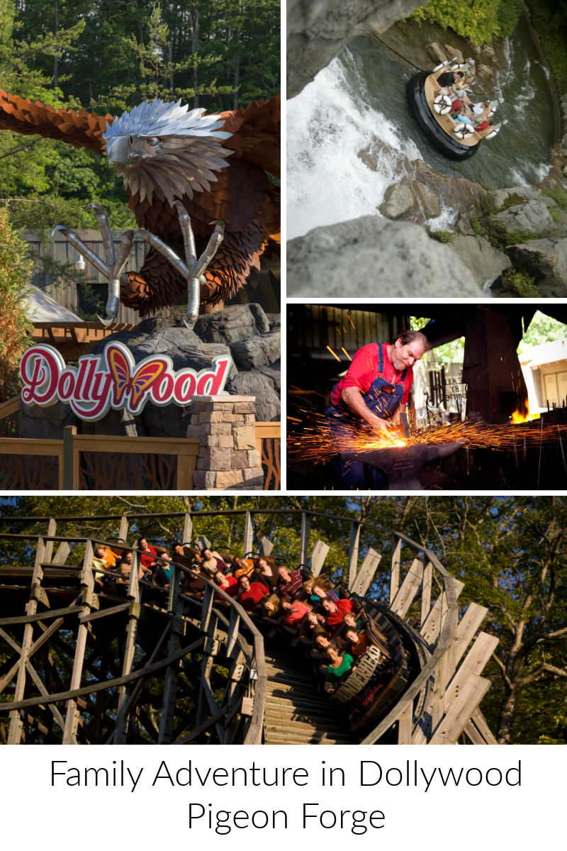Family Adventure in Dollywood Pigeon Forge