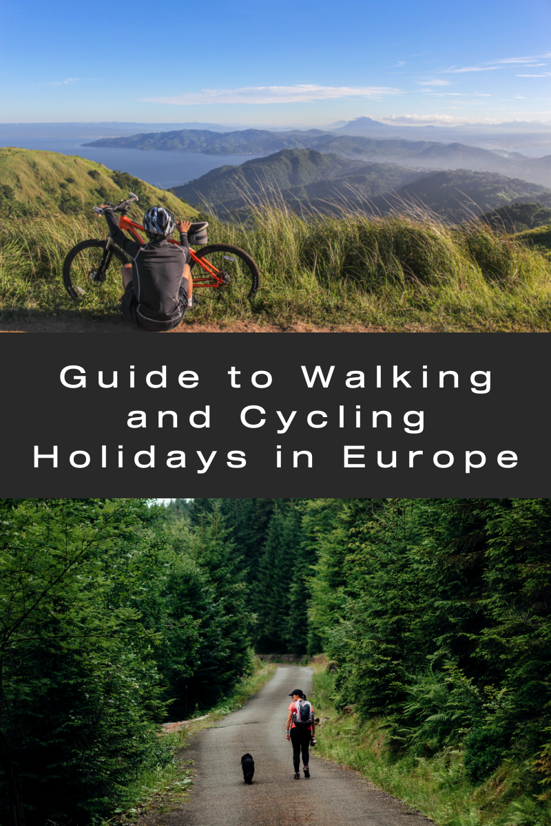 Guide to Walking and Cycling Holidays in Europe