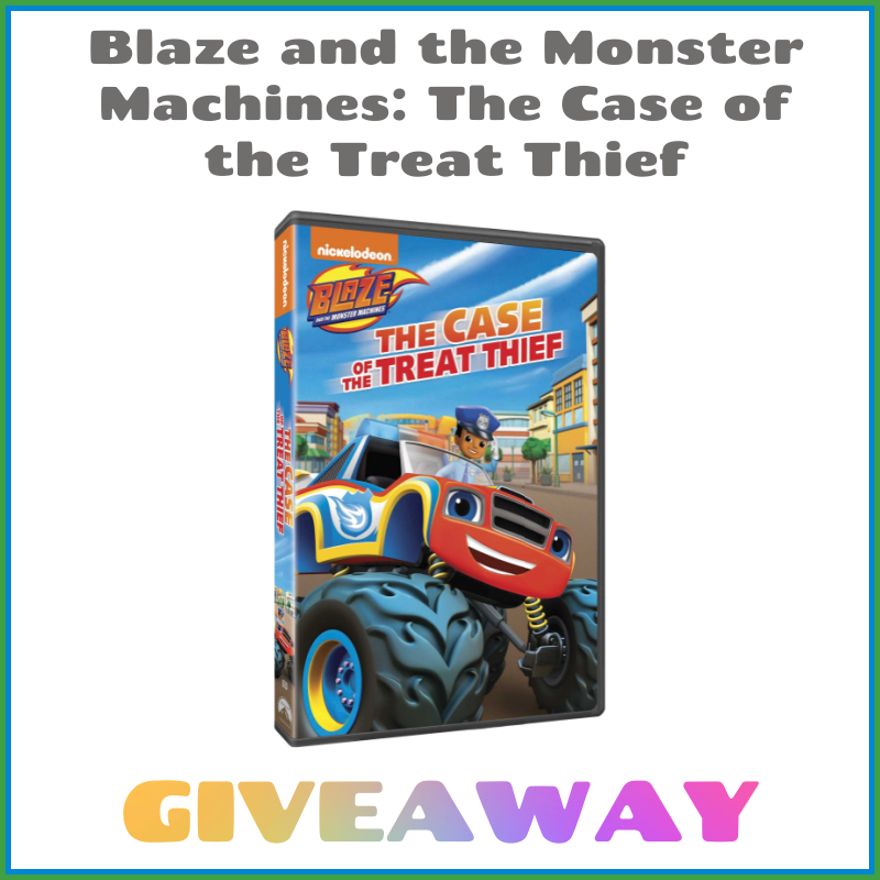 Blaze and the Monster Machines: The Case of the Treat Thief DVD Giveaway