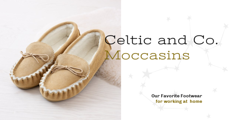 Our Favorite Footwear for Working From Home - Loafer Moccasins