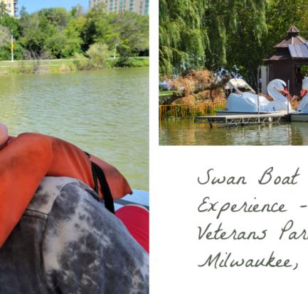 Swan Boat Rental Experience - Veterans Park in Milwaukee, WI